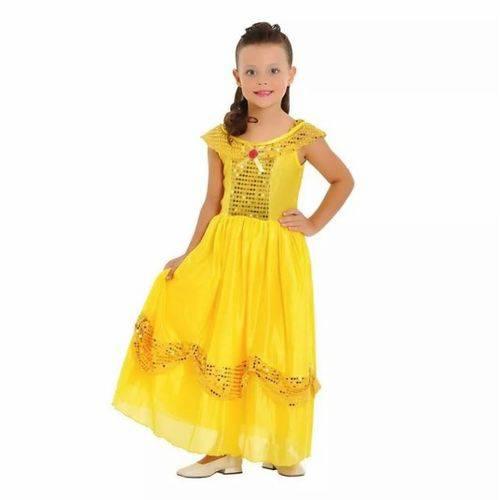Fantasia Princesa Dourada Pp - Sulamericana