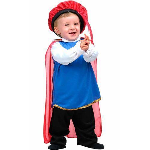Fantasia Príncipe Bebê(Baby) Sulamericana Carnaval Original - G 2 - 3