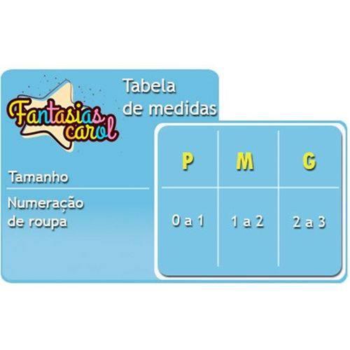 Fantasia Príncipe Bebê(Baby) Sulamericana Carnaval Original - M 1 - 2