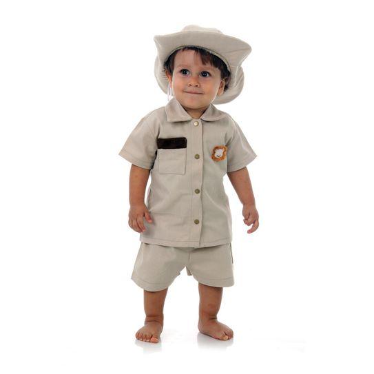 Fantasia Safari Bebê P