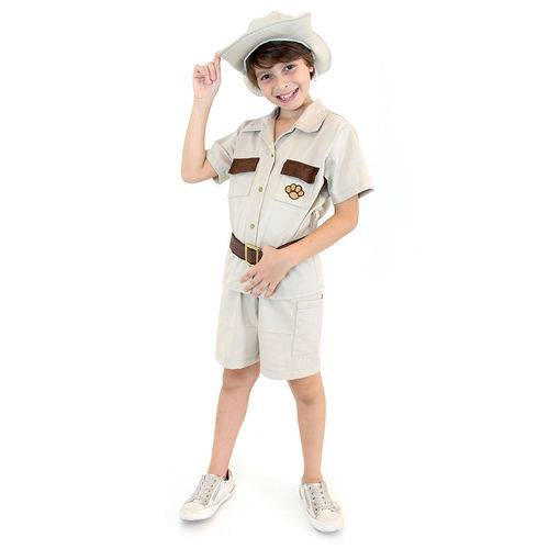 Fantasia Safari Masculino Infantil