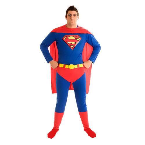 Fantasia Super Homem Adulto G -sulamericana
