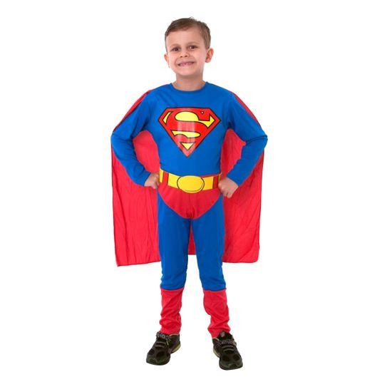 Fantasia Super Homem Infantil - Standard P