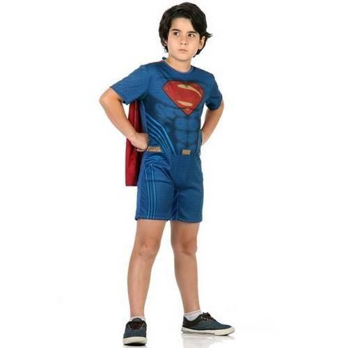 Fantasia Super Homem Pop - Batman X Super Homem