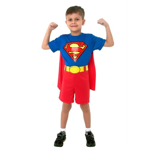 Fantasia Super Homem Pop Curta - SULAMERICANA