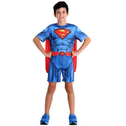Fantasia Super Homem Pop M - Sulamericana