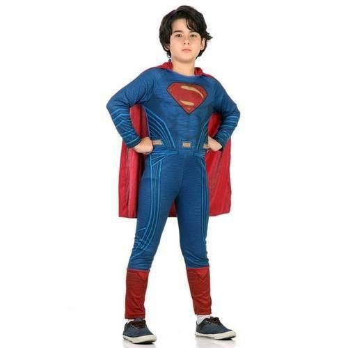 Fantasia Super Homem Std - Batman X Super Homem