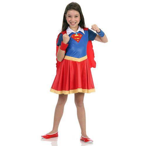 Fantasia Super Mulher - Dc Super Hero Girls