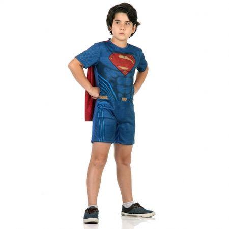 Fantasia Superman Curta - Tamanho P
