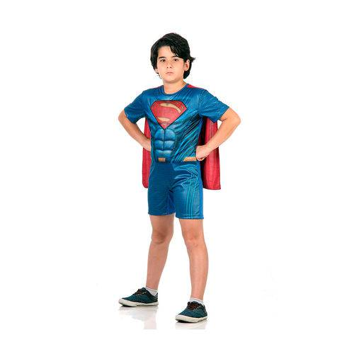 Fantasia Superman Pop com Musculatura P - Sulamericana