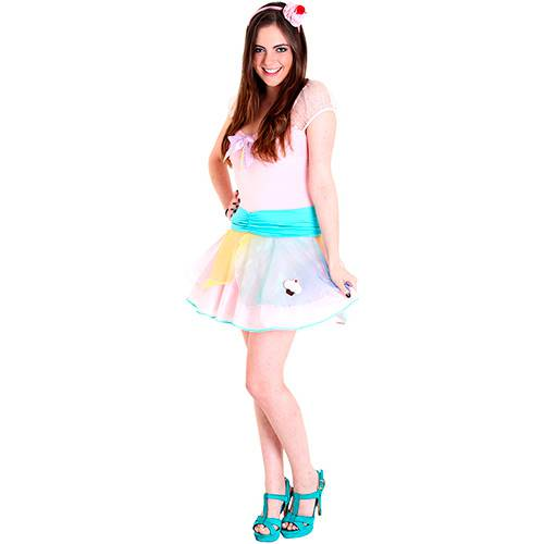 Fantasia Teen Cupcake - Sulamericana Fantasias