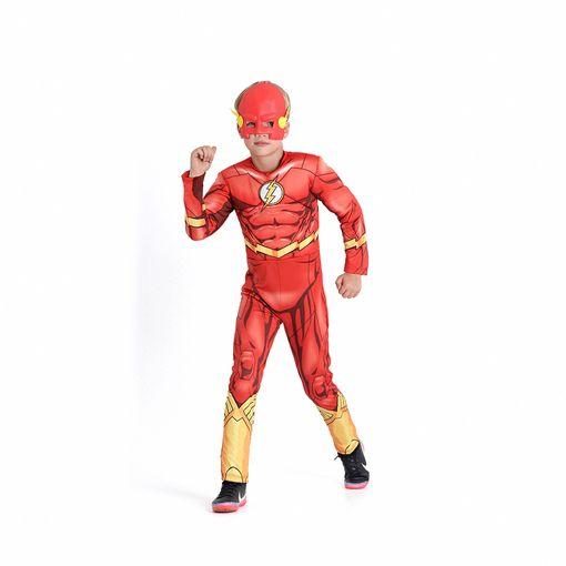 Fantasia The Flash Infantil Longa SulAmericana-P