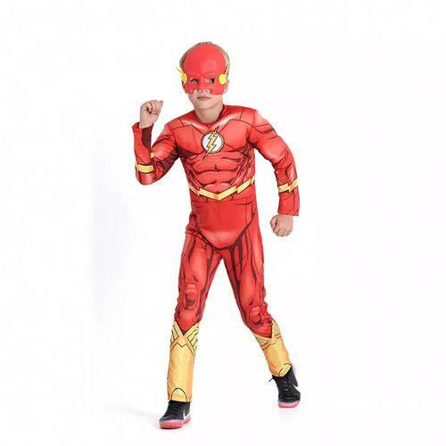 Fantasia The Flash Infantil Longa SulAmericana