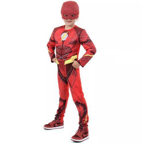 Fantasia The Flash Infantil Luxo com Músculo Novo Filme Liga da Justiça