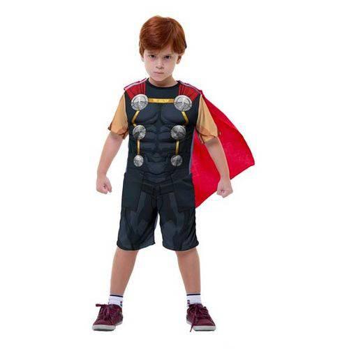 Fantasia Thor Curta - Clássica - Infantil