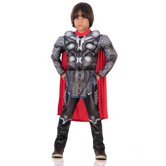 Fantasia Thor Infantil Peitoral - Avengers M