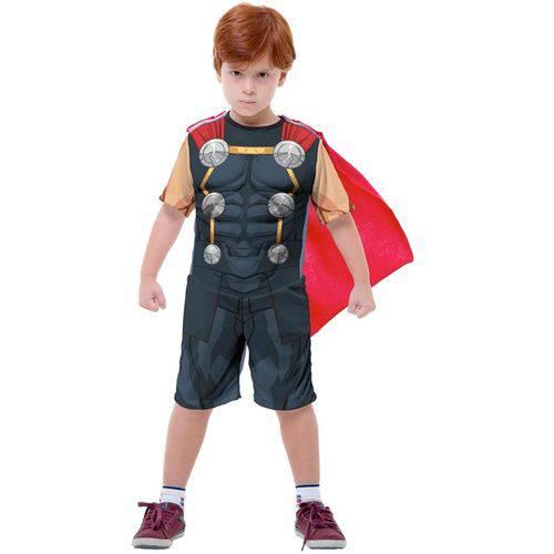 Fantasia Thor Vingadores Infantil Curta Original Marvel Rubies 2204