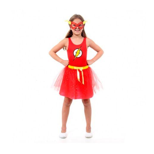 Fantasia Vestido Flash M - Sulamericana