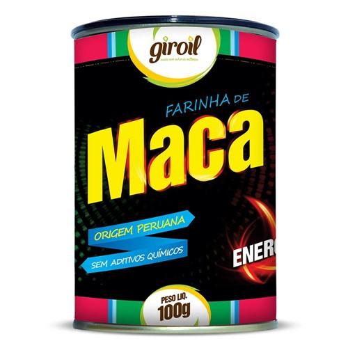 Farinha de Maca Peruana 100g - Giroil