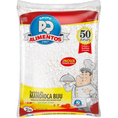 Farinha de Mandioca Biju PQ 2kg