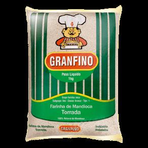 Farinha de Mandioca Granfino Torrada 1kg