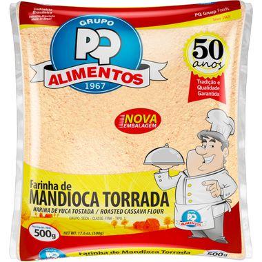 Farinha de Mandioca Torrada PQ 500g