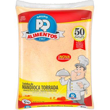 Farinha de Mandioca Torrada PQ 5kg