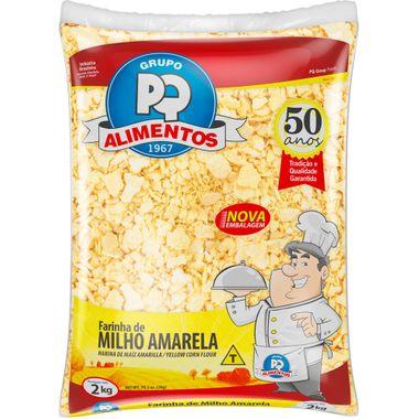 Farinha de Milho Amarela PQ 2kg