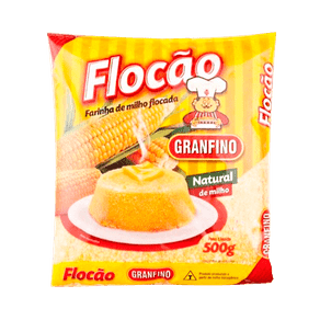Farinha de Milho Flocada Granfino Flocão 500g