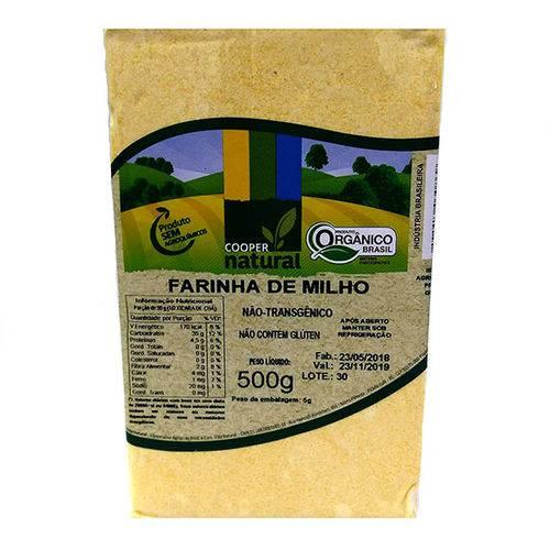 Farinha de Milho Orgânica Coopernatural 500g