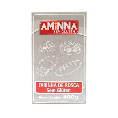 Farinha de Rosca Sem Glúten e Sem Lactose 400g - Aminna