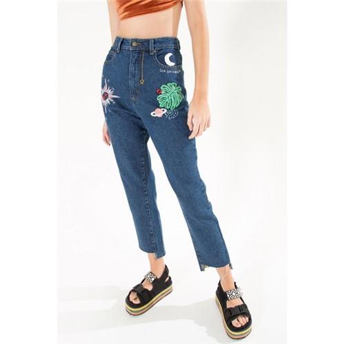 Farm | Calca Skinny Bordada Sketch Jeans - 38