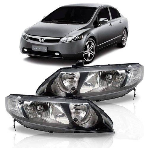 Farol Honda Civic 2007 2008 2009 2010 2011 Esquerdo