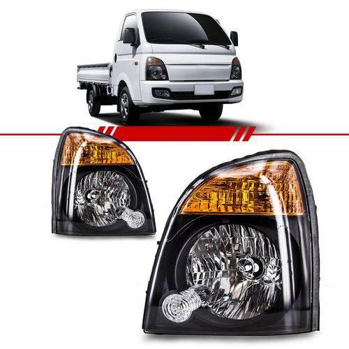 Farol Hyundai HR 2013 2014 2015 2016 2017 2018 Serve 2006 Á 2012 Máscara Negra