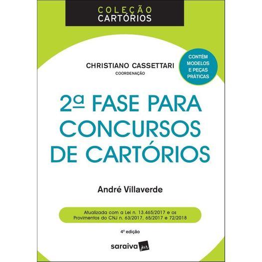 2 Fase para Concursos de Cartorios - Saraiva