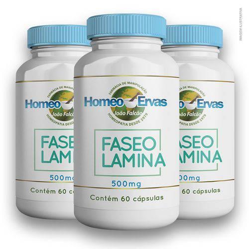 Faseolamina (feijão Branco) 500mg 60 Cápsulas 3 Unidades