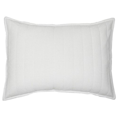 Fashion Capa Travesseiro 50x70 Colmeia Branca