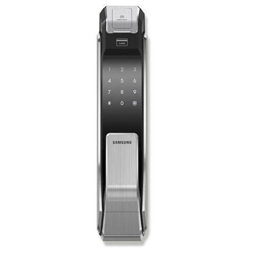 Fechadura Digital Biométrica Inteligente Push / Pull Shs-p718 Samsung