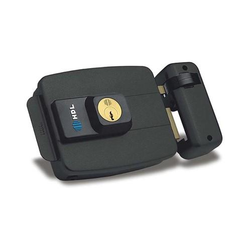 Fechadura Elétrica C90 Dupla Preta - HDL - HDL