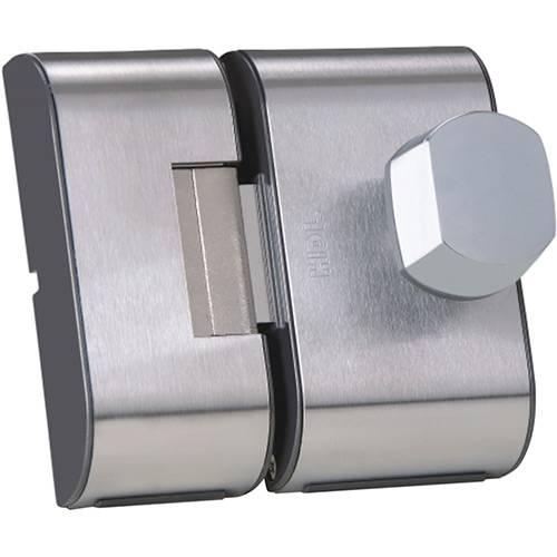 Fechadura Elétrica para Porta de Vidro HDL PV90 2R Inox Cromado