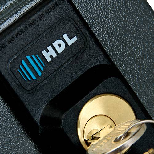 Fechadura HDL C90 Abre para Fora Preta
