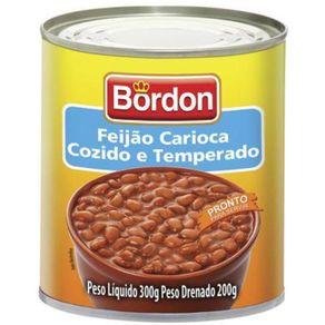 Feijão Carioca Bordon Lata 300g