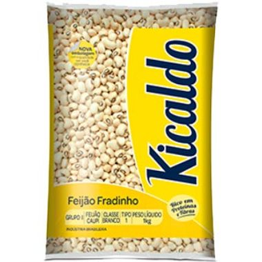 Feijão Fradinho Kicaldo 1Kg