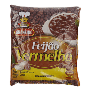 Feijão Vermelho Granfino 500g