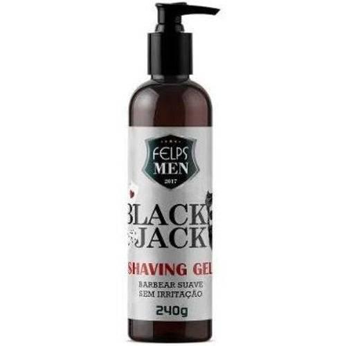 Felps Men Black Jack Shaving Gel para Barbear 240g