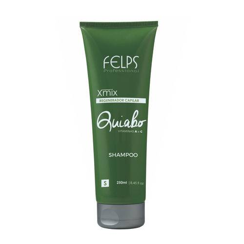 Felps Xmix Quiabo Shampoo Regenerador Capilar 250ml