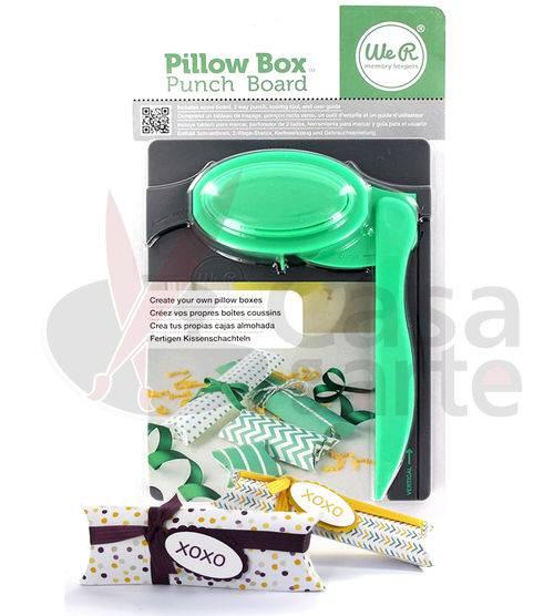 Ferramenta de Corte e Vinco Pillow Box Punch Board Caixas Almofadadas – We R Memory Keepers 71335-7