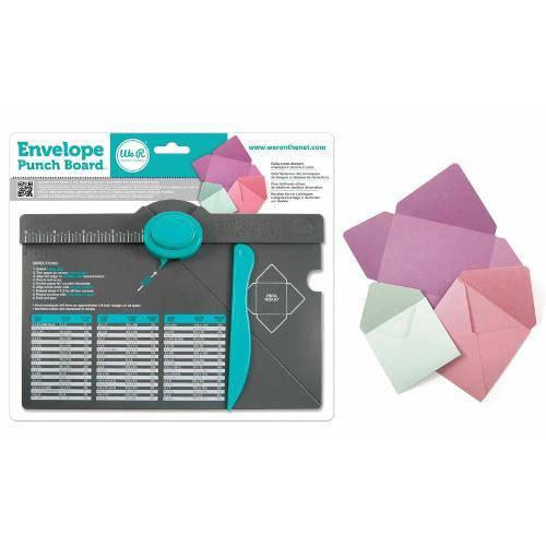 Ferramenta de Corte e Vinco We R Memory Keepers – Envelope Punch e Board 71277-0