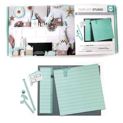 Ferramenta Template Studio We R Memmory Keepers - Starter Kit Embalagens de Larga Escala 662551