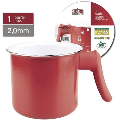 Fervedor Ceramic Class 1,3 Litro Vermelho Class Home